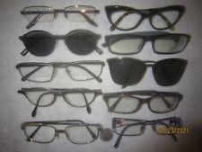Mix Lot of 10 A/X-Paolo Gucci HI NI 21 K GP-Versace-ks-MK-Mikli-more Eyeglasses