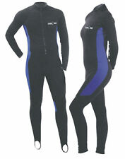 Scuba Lycra Body Suit Dive Surf Kayak Snorkeling LS-1000-B-Medium