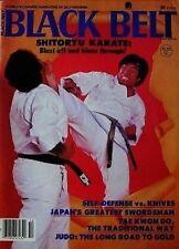 10/80 BLACK BELT MAGAZINE  FUMIO DEMURA SHITO-RYU KARATE KUNG FU MARTIAL ARTS