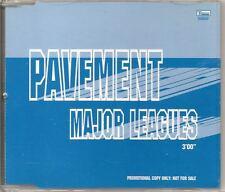 PAVEMENT Major Leagues PROMO CD SINGLE