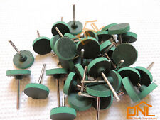 """1""""(25mm) Column Leather Buffing Wheel Polishing For Abrasives Rotary tools"""