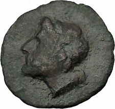 Iaitia in Sicily 241BC Zeus Hercules Authentic Ancient Greek Coin RARE i38057