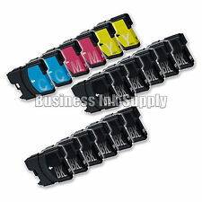 18++ New LC61 Ink Cartridge for Brother MFC-495CW MFC-J410W MFC-295CN LC61 LC-61