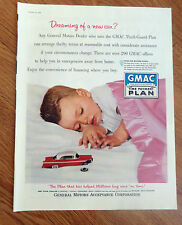 1956 GMAC General Motors Time Payment Plan Ad Dreaming of a New Car?