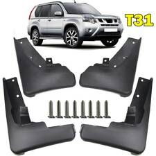 For Nissan X-Trail T31 2008-2013 Front Rear Mud Flaps Splash Guards Mudguards