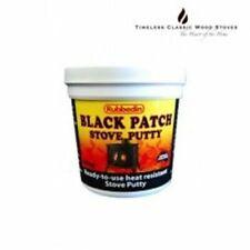 Black Patch Stove Putty Heat resistant wood stove sealant 1Kg
