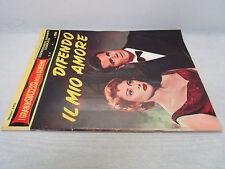 (BG56) CINEROMANZO GIGANTE COMPLETO-1956- DIFENDO IL MIO AMORE - CAROL+GASSMAN
