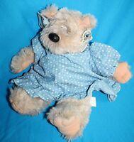 "Heartline TEDDY BEAR 15"" Mom Doll Plush Stuffed Soft Toy Vtg 1983 Graphics Intl"