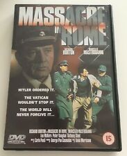 MASSACRE IN ROME DVD