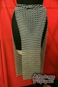 NEW  BEST | Aluminum | CHAINMAIL SKIRT | 10 MM | BUTTED | MEDIEVAL ARMOUR