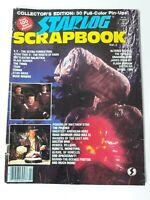 1983 Rare Starlog Scrapbook Magazine Vol.2 FN 6.0 Indiana Jones / Star Trek / ET
