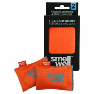 SMELLWELL Geometric Orange Original Air Purifying Bags Freshener Insertion Shoes