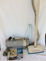 Vintage Electrolux Model R Canister Vacuum with attachments