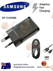 GENUINE SAMSUNG 9V Adaptive FAST Wall Charger EP-TA20HBE For Galaxy S9 S8 Note8