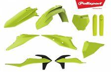 Polisport KTM Plastic Kit Flo Yellow 2019 - SX SX-F XC XC-F 125 250 350 450 2019