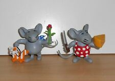 PHILIP the MOUSE Set 2 PVC FIGURE Figurine COMICS SPAIN