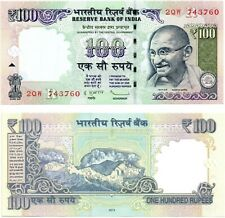India 100 Rupees (Gandhi) 2011, Pick 105, Uncirculated *Rare*