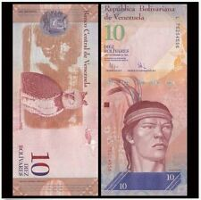 Venezuela 10 Bolivares 19/8/2014 (Gem UNC) 委内瑞拉 10玻利瓦尔 X71932494