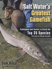 BOYD FLYFISHING BOOK SALT WATERS GREATEST GAMEFISH TACTICS 35 SPECIES bargain