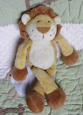 """Gund Cagney 60167 Beige & Brown Floppy Plush Stuffed Lion Baby Toy EUC 10"""""""