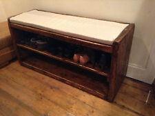 Le Morlaix a Rustic hand-crafted seat, and shoe/display stand