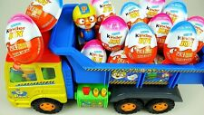 10pcs Kinder Joy Eggs For Birthday Party Surprise  with Toy & Chocolate For Boys