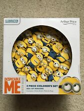 Despicable me 3 Piece China childrens Set .Brand new Boxed Collectible