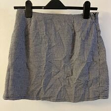 Forever 21 Houndstooth Mini Skirt
