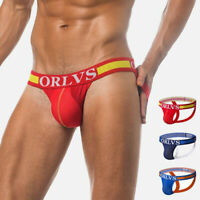 Mens Underwear Jock Strap T-back Athletic Supporter Sports Jockstraps Underpants