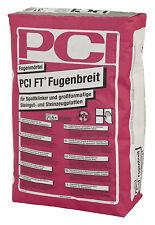 PCI FT Fugenbreit 5 kg Zementgrau Fugen-Moertel für Spaltklinker und Fliesen