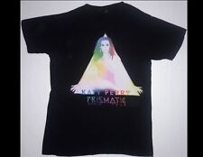 KATY PERRY The Prizmatic World Tour Size Small Black T-Shirt