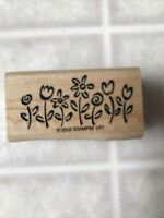 D.O.T.S holly patch rubber stamp