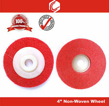 Non-Woven Wheel 4inch (100mm) for 4inch Angle Grinder - 3nos