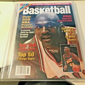 Ultimate Sports Basketball Yearbook 1996-97 Michael Jordan - MINT - Original Own