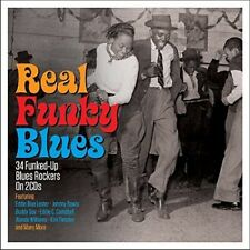 REAL FUNKY BLUES (JOHNY MARS, HUBERT SUMLIN, MICK MARTIN,..) 2 CD NEW+
