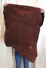 7-9 oz. Whiskey Buffalo Leather Hide for Native Crafts Moccasins Quivers Laces