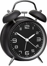 TFA 60.1025 Mechanisch Wecker Schwarz Alarmzeiten 1