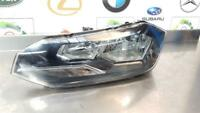 VOLKSWAGEN POLO MK6 AW 2018+ PASSENGER SIDE FRONT HEADLIGHT 2G2941005 SEE DAMAGE