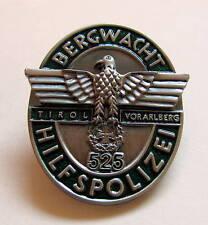 PIN Bergwacht Hilfspolizei Tirol Voralberg DEUTSCHES REICH P-308