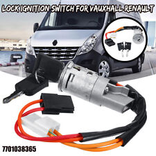 Ignition Lock Barrel Switch & Key For Vauxhall Vivaro Renault Trafic Primastar
