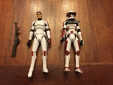 Star Wars Clone Troopers - Lieutenant Thire and Clone Trooper Rys