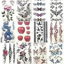 10 sheets Temporary tattoos body lower back body waist totem wholesale body art