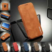 Flip Magnetic Leather Case Wallet Cover For Samsung Note 20 Ultra S20+S10E S9 S8