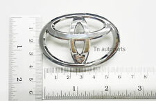 New for Toyota Chrome Steering Wheel Center Badge Logo 6.5cm Parts Free Shipping