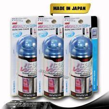 3PCS VANS Pastel Clear Blue Tint Lens Tail Head Fog Coner Light Painter Spray