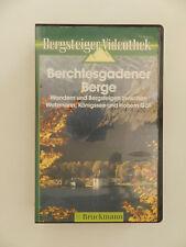 VHS Video Kassette Berchtesgadener Berge Watzmann Königsee Hohem Göll Wandern