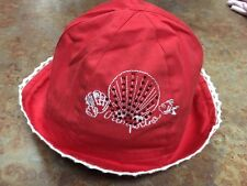 Baby Girl Pampolina Summer Sun Hat Size 3/6 Months Very Pretty & Stylish