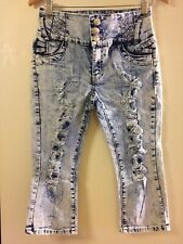 La Bonita Colombia Jeans Skinny, Slim Ankle Pants, Booty Lift, Blue/size 9