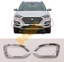 For 2019-2020 Hyundai Tucson New ABS chrome Front fog light frame cover trim