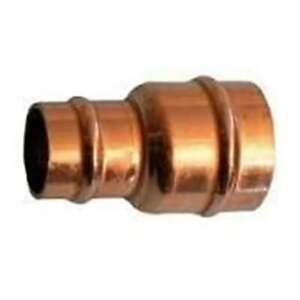 1 x New Reducing Coupler 10mm x 8mm SOLDER RING copper plumbing fittings